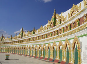 Mandalay Hill temple