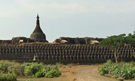 Myanmar with Mrauk U