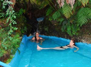 Soak in hot springs on the Chronos Cruise