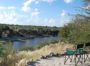 Overlooking the Boteti River, Botswana