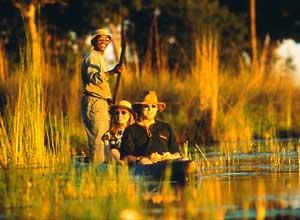 Mokoro trip in the Delta, Botswana