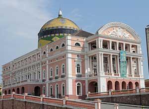 Teatro Amazonas - Baroque opera house