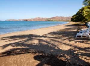 Enjoy a restful day on Potrero Beach