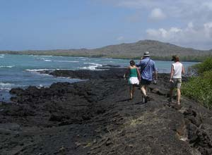 Walking on Isabela, Galapagos