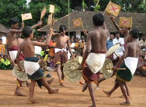 Music and dancing, Malabar