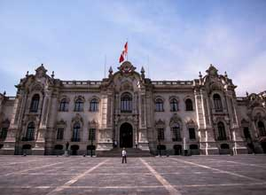 Lima government palace