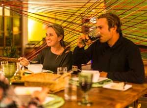 Dinner at Huacahuasi Lodge