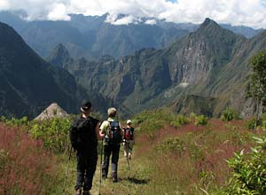 Trekking in the Andean Mountains
