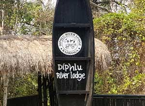 Leaving Diphlu River Lodge