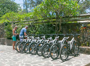 Use a bike at Seapoint Boutique Hotel to go exploring