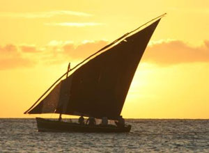 Sunset dhow cruise from Anantara Bazaruto
