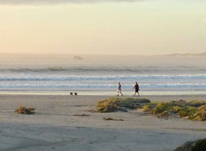 Go for a long walk along the beach at Paternoster