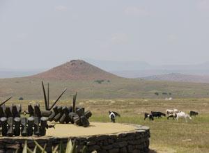 Isandlwana in The Battlefields